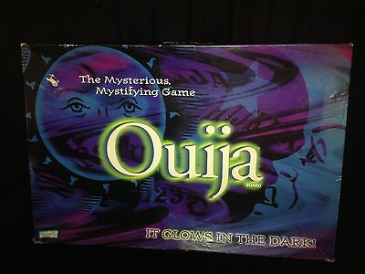 Ouija Board Mysterious Mystifying Oracle 1972 Parker Brothers Glow In The Dark