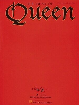 QUEEN - The Best Of PVG Book *NEW* Sheet Music Piano Guitar Vocal