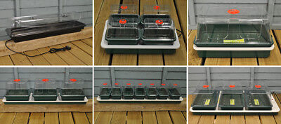 Indoor Electric Heated Plant Seed Propagators By Garland