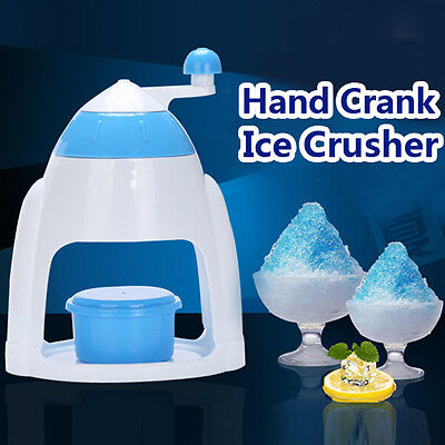 New Ice Maker Crusher Machine Crushed Shaved Bar Kitchen Home Party Snow Shaver