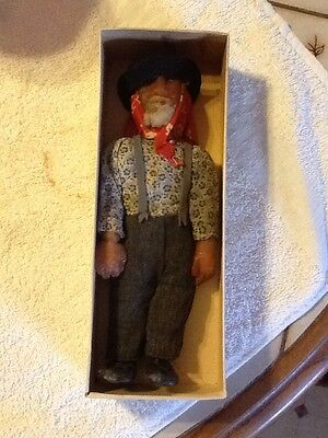 VERY RARE Antique Wax Man Doll. 6 1/2 Inches Tall. Unique Piece!!!