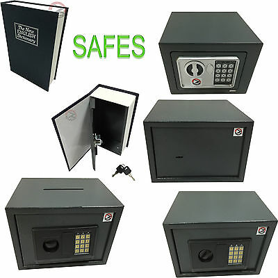 New Assorted Electronic Steel Safes Office Home Shop Money Cash Safety Box Book