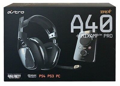Astro A40 Pro TR Headset For PS4, PS3  BRAND NEW - US SHIPS FREE