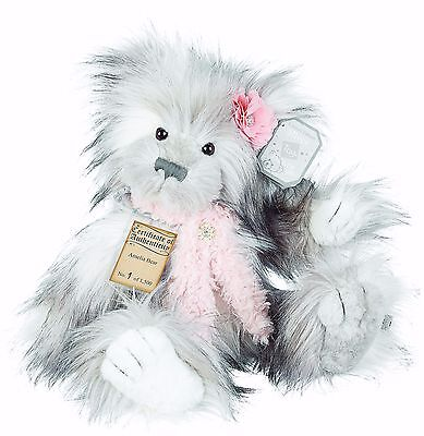 Silver Tag 4 Amelia Bear Collectible Limited Edition Teddy from Suki
