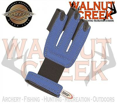 Neet Archery Products NASP Youth Finger Shooter Blue Glove 60036