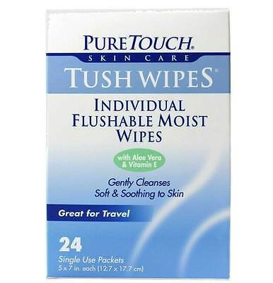 Pure Touch Skin Care Tush Wipes Tush Wipes