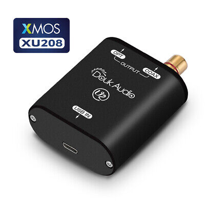 USB to SPDIF Converter Coaxial/Optical AC3/DTS/PCM Source Output for Phone Audio