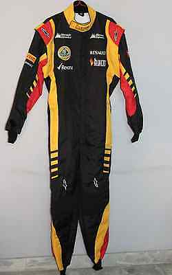 Hobby Go Kart lotus race suit 2014 style