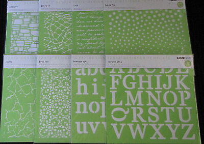 "Kaisercraft 'DESIGNER TEMPLATE/STENCIL' 12x12"" (Choose from 23 Designs) KAISER"