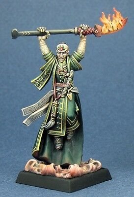 Karzoug Runelord Reaper Miniatures Pathfinder Wizard Mage Magic User Caster