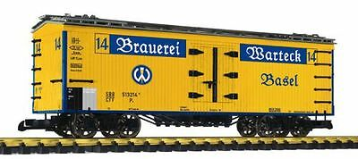 Liliput covered Beer truck Warteck, Plastic Wheels, G Scale Garden railway