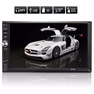 7'' 2DIN Auto HD Touch Screen Bluetooth Autoradio In-Dash USB FM AUX DVD MP3 MP5