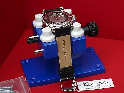 Heavy Duty Watch Case Opener Holder + Screws To Remove Back Case  Large Watches