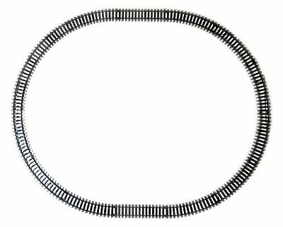 NewRay 14 Plastic Tracks, Oval, Black, G Scale and 1 Gauge