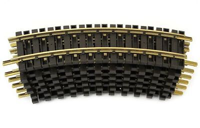 LGB 12 Brass track, G Scale, compatible with Piko Tracks, bent, R1=60