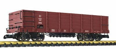 Liliput-Bachmann High-sided wagon,brown,metal spoked wheels,G Scale