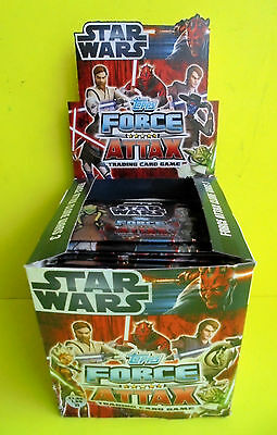 1 Display mit 100x Booster / 500 Karten Star Wars Force Attax Serie 3 Topps Neu