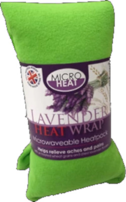 Soft Fleece Lilac Lavender Wheat Bag- Heat Cool Pack, Microwaveable, Freezable