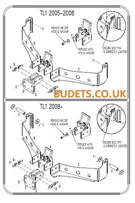 Land Rover Discovery 3 & 4 2005-2015 - Tow Trust Fixed Flange Towbar Kit