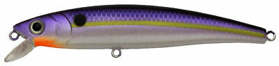 """JL120-396 SILVER CHARTREUSE BACK CHALLENGER LURES JUNIOR MINNOW 3-1//2/"""" 5//16 OZ"""