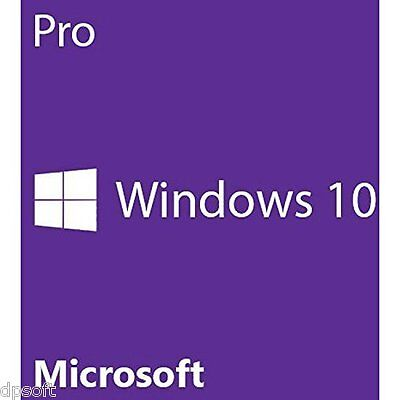 Windows 10 PRO 64/32 Bit  ESD  key in fattura