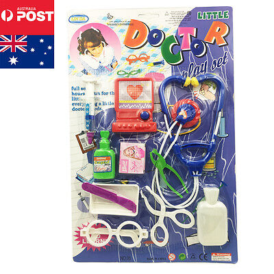 Kids Pretend Play Educational Doctor Kit Medical Set Hospital Supplies Toy