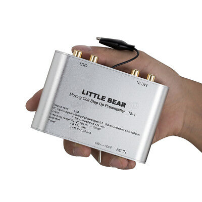 Little Bear T8-1 Moving Coil MC Step-Up Transformer Phono Preamp Pre-amplifier