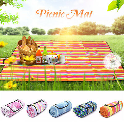 Extra Large Picnic Blanket Rug Mat Waterproof Rug Travel Camping Beach Kids Baby