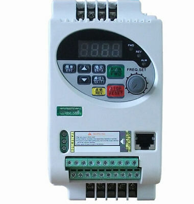 Update Vector frequency inverter single phase 220V 1.5KW SVPWM