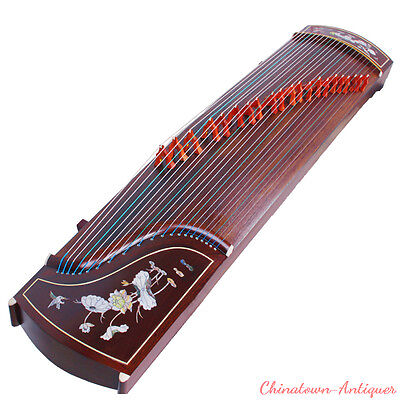 "64"" Traditional Chinese musical instrument Chinese zither Gu Zheng Harp #T018"