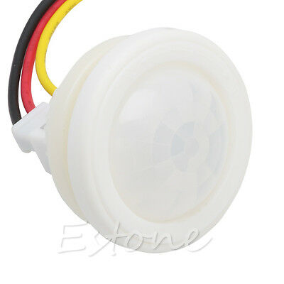 360 Degree AC 220V Infrared PIR Motion Sensor Switch For Light 100W Max HOT