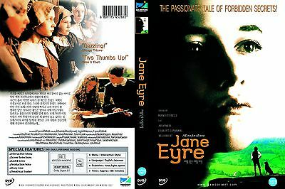 Jane Eyre,1996 (DVD,All,Sealed,New) William Hurt