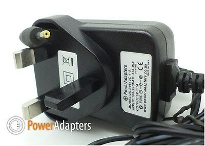 BT Digital Video Baby Monitor 1000 6v cable - Uk plug charger adapter