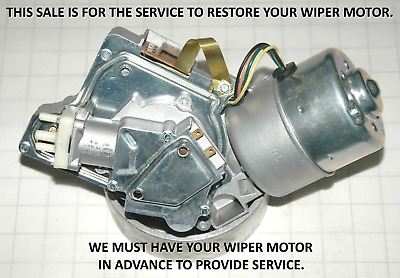 1959 62 Your Windshield Wiper Motor & Washer Pump Restored - Cadillac - Perfect