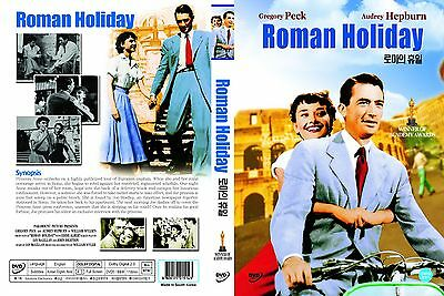 Roman Holiday,1953 (DVD,All,Sealed,New)William Wyler,Gregory Peck,Audrey Hepburn