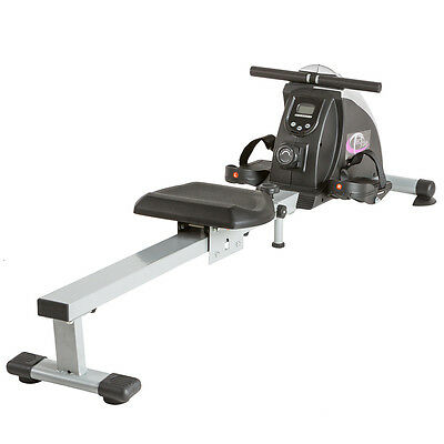 Fitness pulley indoor rower rowing machine hometrainer computer with LCD display