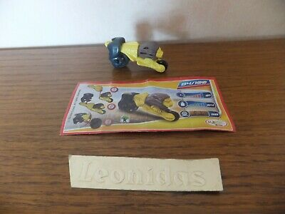 Kinder  surprise Sprinty  Moto  FF145  +  BPZ