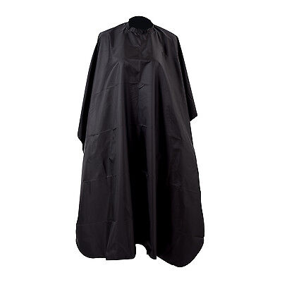 Pro Black Wholesale Salon Hair Cut Hairdressing Barbers Cape Black Gown New UK