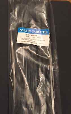 1000 Black Electrical Nylon 66 Cable Ties UL Recognised 150 200 300mm (10x100)