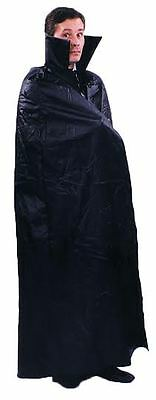 Halloween Lifesize LEATHER LIKE DRACULA CAPE Adult Men Costume Haunted House