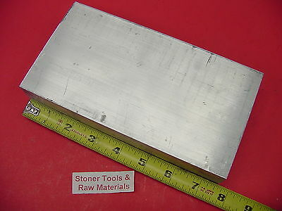 "1-1/2"" X 4"" ALUMINUM 6061 FLAT BAR 7-1/2"" Long Solid T6511 1.50"" New Mill Stock"