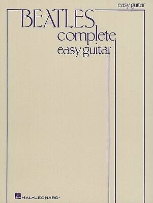 The Beatles - Complete Easy Guitar Book *NEW* Sheet Music, Chords, 155 Songs