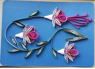 Paper Quilling - Gretting Card