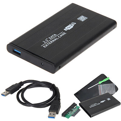 "USB 3.0 SATA 2.5"" Inch Hard Drive External Enclosure HDD Mobile Disk Box Case"