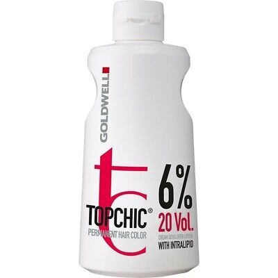 Goldwell Topchic Developer Lotion 6% 20 Vol 1 Litre