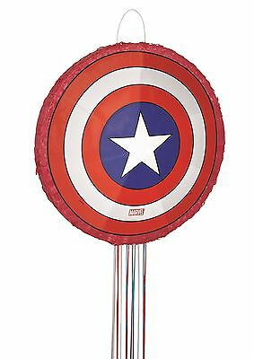 Marvel Avengers Assemble Captain America Shield | 3D Party Pinata | Game