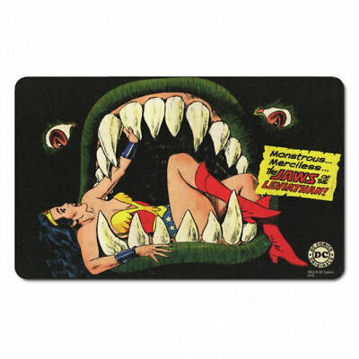Wonder Woman Jaws Of Leviathan Breakfast Cutting Board Formica Retro Dc Comics