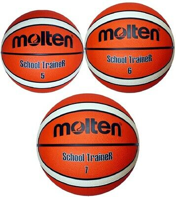 Molten Basketball Trainer Indoor Outdoor Trainingsball Schule Hobby Freizeit NEU