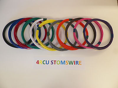 16 Gxl High Temp Automotive Power Wire 11 Solid Colors 25 Ft Each 275 Feet Total