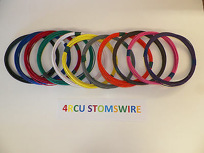 20 Txl High Temp Automotive Power Wire 11 Solid Colors 25 Ft Each 275 Feet Total
